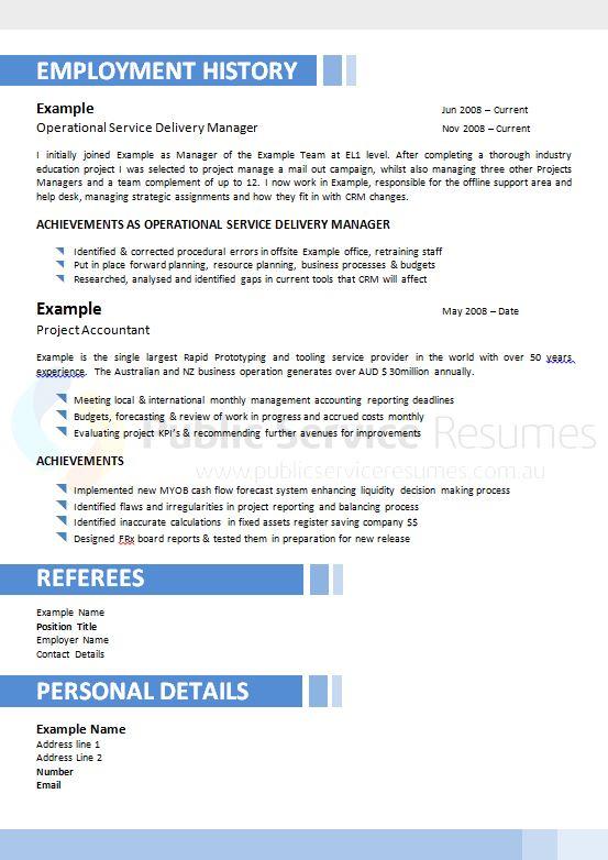 professional government resume  u00bb modern resume design