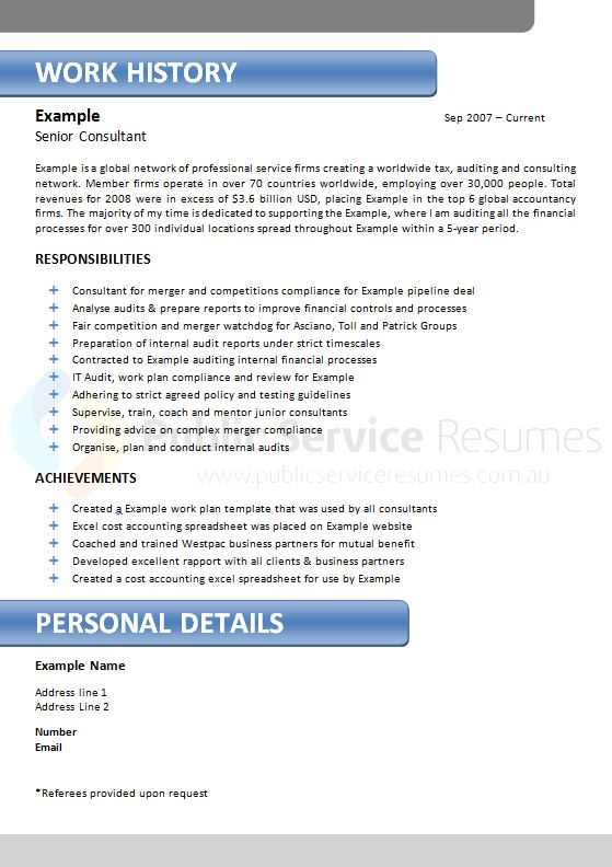 Local in office resume writing services