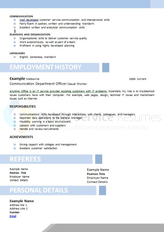 government information technology resume  u00bb it professional