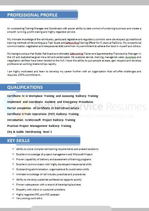 professional public sector resume design  u00bb public service