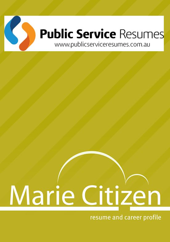 Public Service Resumes 016 fp1