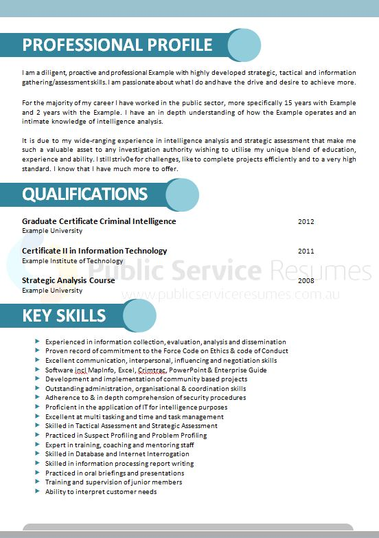 modern public service resume  u00bb government resume writing