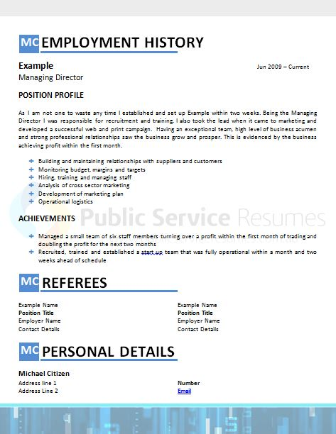 public sector accountant resume  u00bb government resume