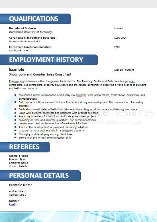 government skilled professional resume  u00bb public services