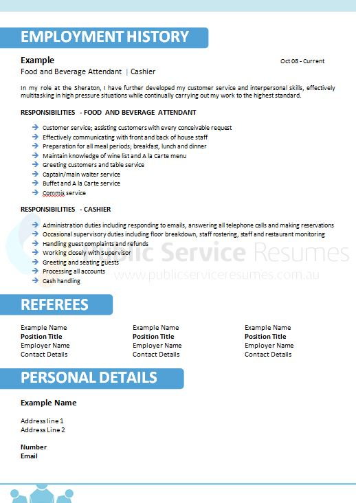 Us government resume writing service professional