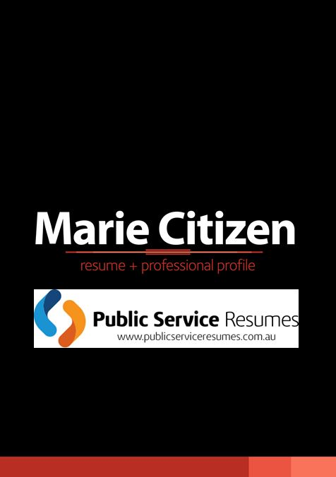 Public Service Resumes 054 fp1