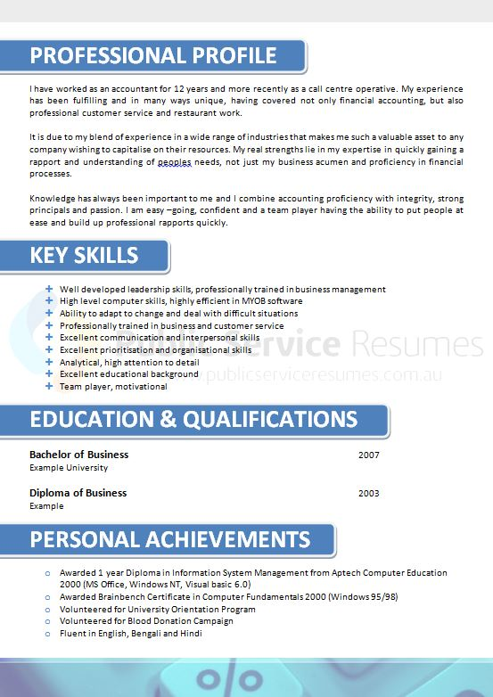 government accountant resume  u00bb experienced  u0026 qualified writers
