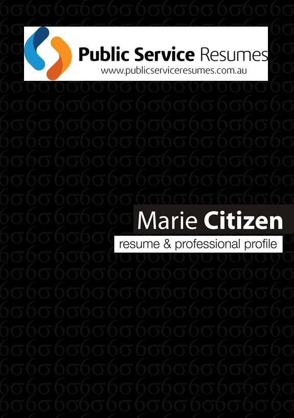 Public Service Resumes 063 fp1