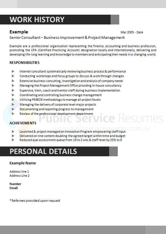 executive government resume 187 executive resume writing service