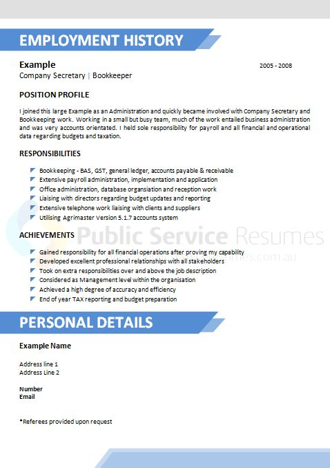 creative public sector resume  u00bb government resume writing