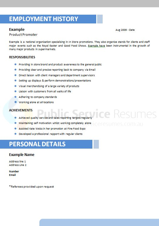 Resume writing services ipswich qld