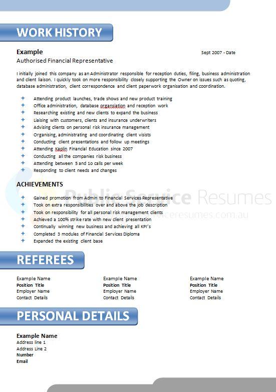 information  u0026 technology resume design  u00bb public service