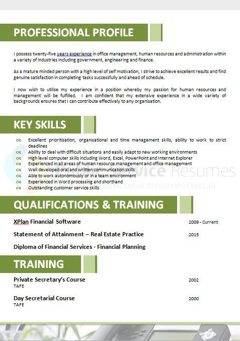 public service resume 090  u00bb industry specific resume