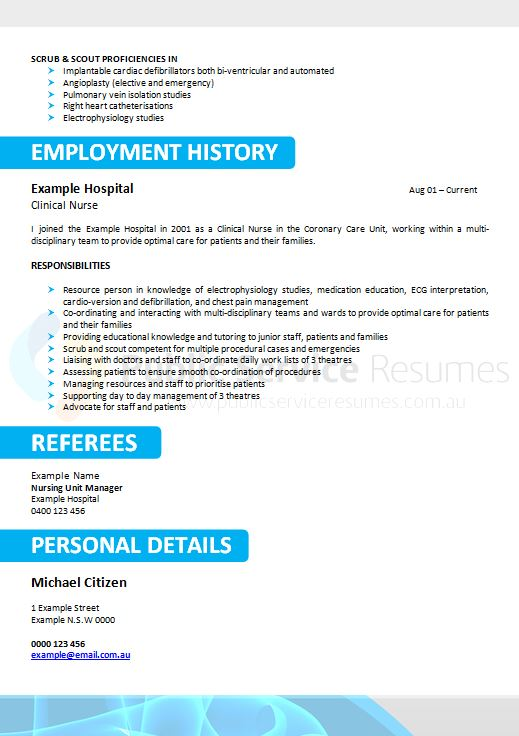 Affordable resumes adelaide
