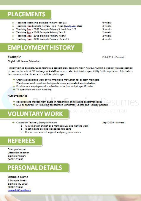 public service teacher resume  u00bb professional teacher