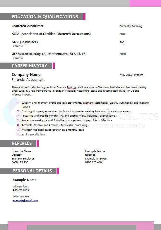 senior executive government resume  u00bb government resume writers