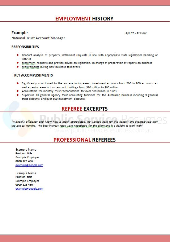 Librarian Resume Sample Writing Guide Rg. Professional School