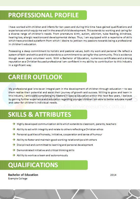 innovative public sector resume  u00bb government resume