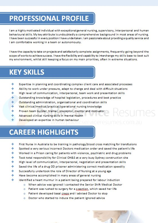 public sector nurse resume  u00bb government experienced nurse