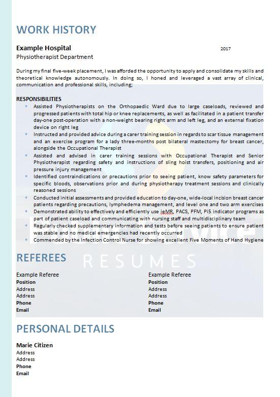 government teacher resume  u00bb public service resumes