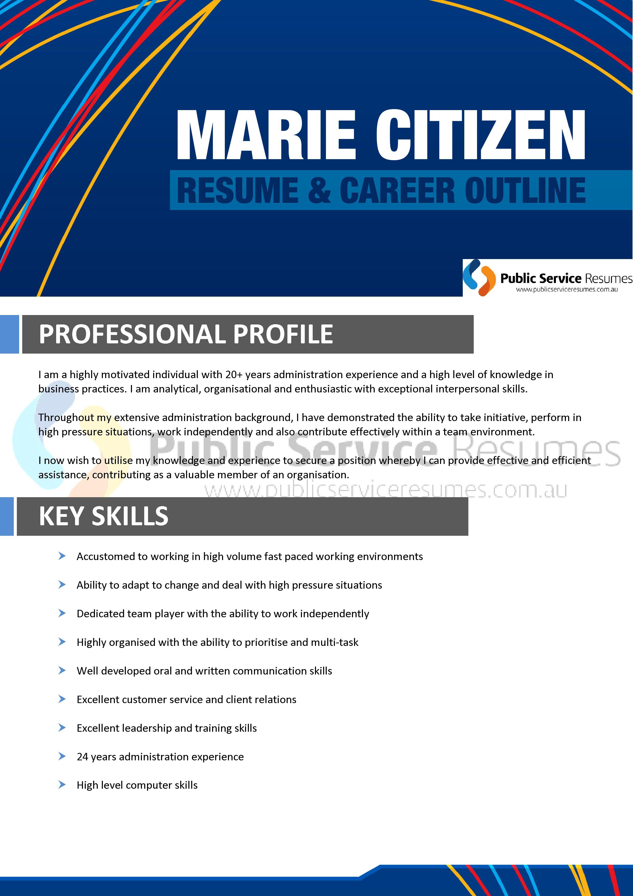 eyecatching resume design 187 public service resumes 187 open