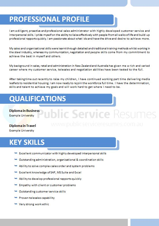 innovative resume  u00bb public service resumes  u00bb government resume