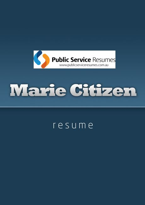 Public Service Resumes 026 fp1