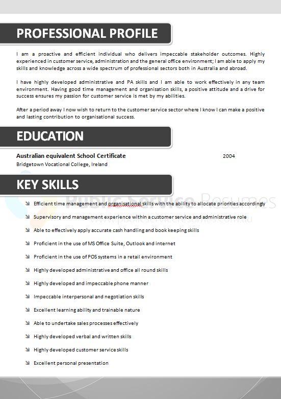 Public Sector Grey Resume » Public Service Resumes » 1300 ...
