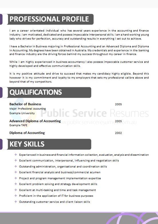government purple resume  u00bb public service resumes  u00bb 1300