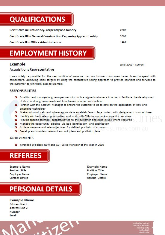 Highly Effective Government Resume » Government Resume Writers