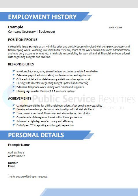 creative public sector resume  u00bb government resume writing