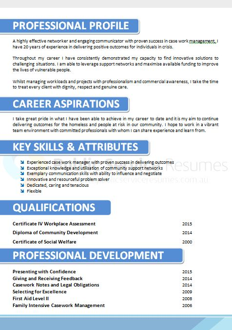 corporate blue resume design  u00bb public service resumes